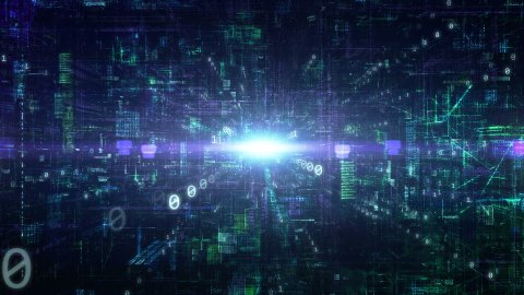 Cyberspace - stock footage