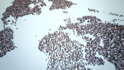 People of the World - stock footage