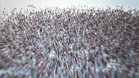 Group of People - stock footage