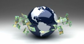 Global Business with Australian Dollars - motion graphic