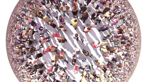 World of People - stock footage
