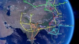 Localization, GPS Navigation, Traveling, Pathfinding over the Asia.