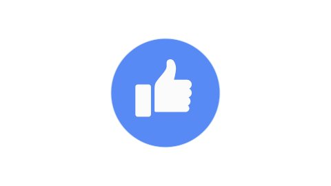 Editorial Animation: Likes. Facebook Reactions Icon. Loop. - stock footage