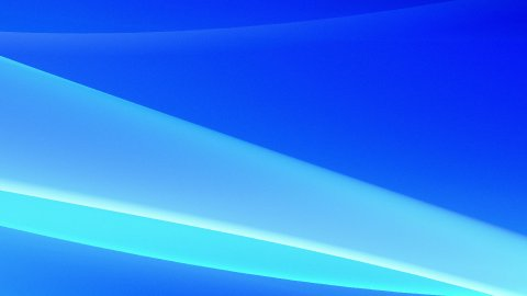 Cold Blue Abstract Background, LOOP - stock footage