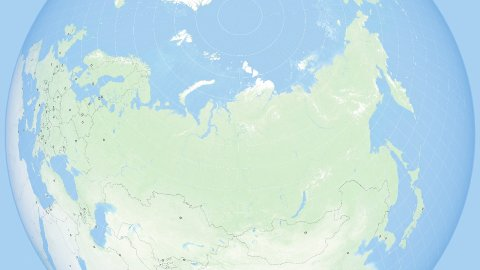 World Zoom to Russia. States and Capitals. 4k. - stock footage