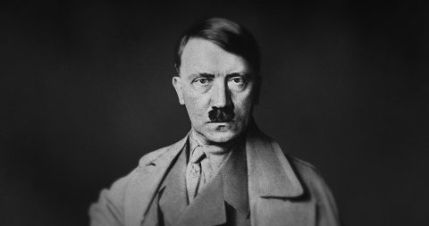 The Iconic Photo of Adolf Hitler in Motion. - stock footage