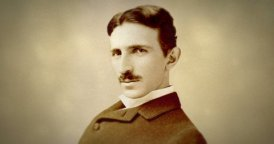 The Iconic Portrait of Nikola Tesla in Motion.