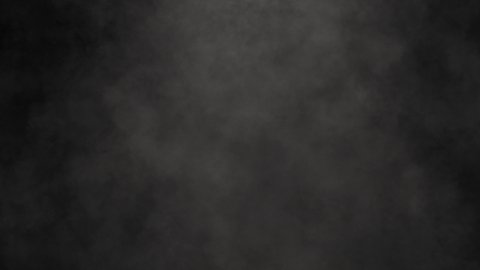 Smoke in Slow Motion on Black Background. Slow Vertical Movement. - stock footage