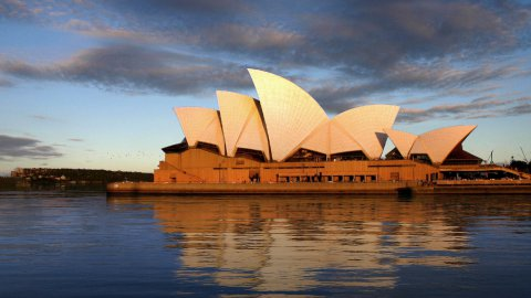Sydney Opera House - stock footage