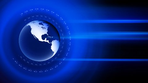 globe news background LOOP - stock footage
