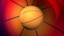 basketball background LOOP - motion graphic