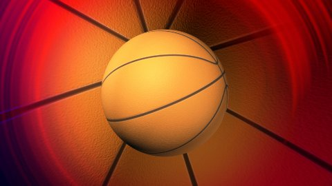 basketball background LOOP - stock footage