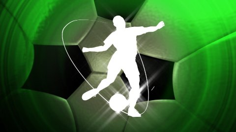 soccer background LOOP - stock footage