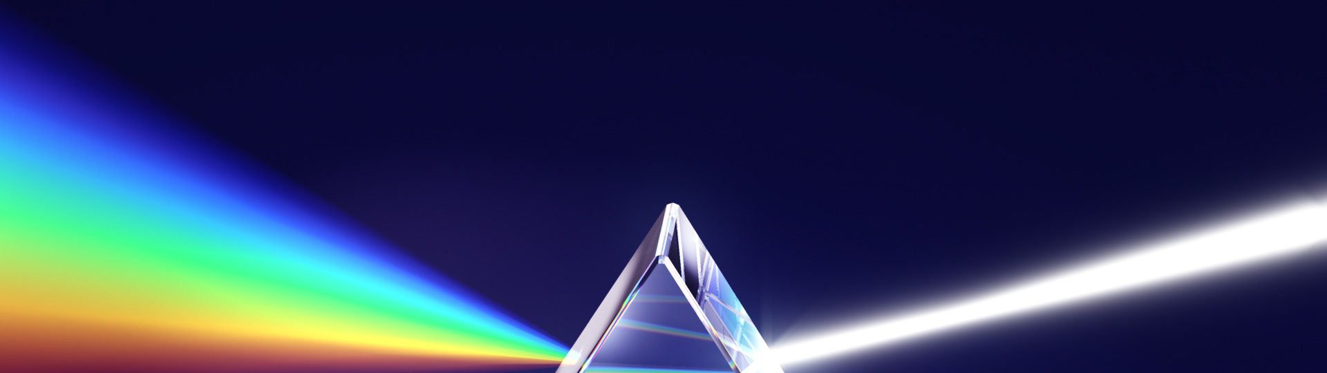 Prism and light dispersion LOOPED | Prism - light dispersion, seamless loop, HD1080p  - ID:6637