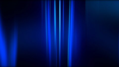 blue abstract trails background LOOPED - stock footage