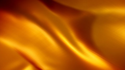 gold background flag LOOPED - stock footage