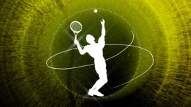 tennis background LOOP - motion graphic