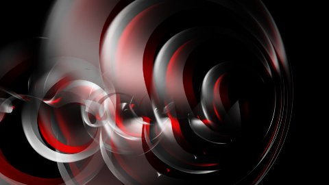 Abstract background - 3d rendered cloth elements - stock footage