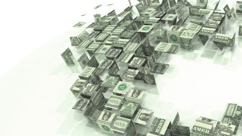 Dollar global domination - stock footage