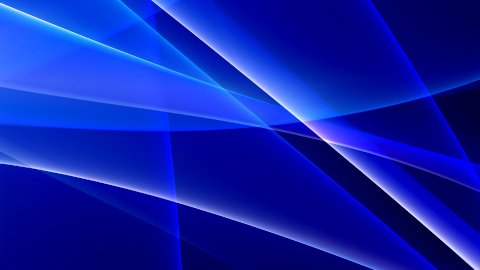 cold blue abstract background LOOP - stock footage