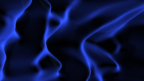 Blue velvet LOOPED - stock footage