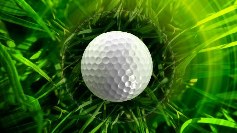 Golf background LOOP  - stock footage