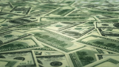 Money background LOOP - stock footage