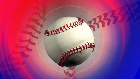 baseball background LOOPED - stock footage