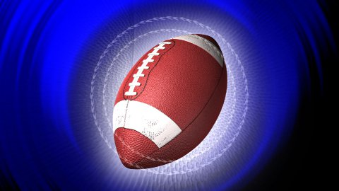 american football background LOOPED - stock footage