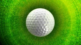 Golf ball background LOOP - motion graphic