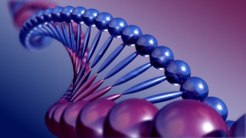 DNA strand loopable - stock footage