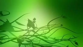Green background, LOOP - motion graphic
