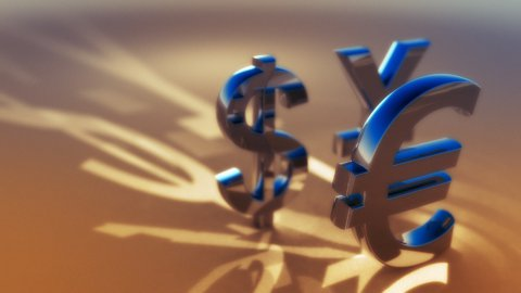Currency - stock footage