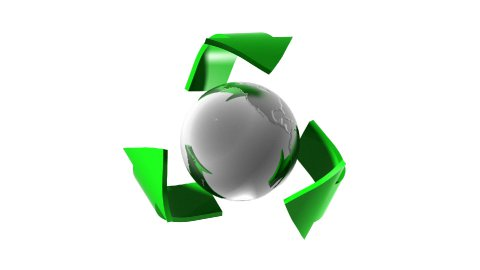 Recycling - stock footage