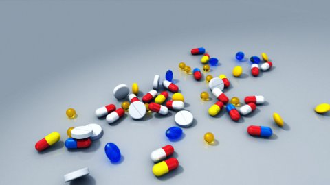 Pills - stock footage