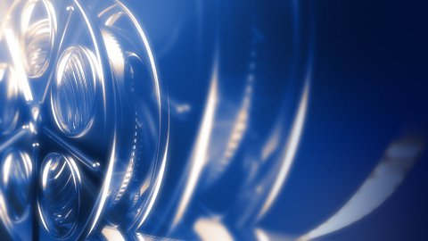 Movie reel - stock footage