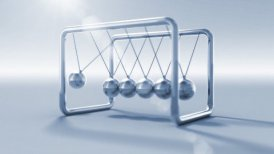 Newton cradle - motion graphic
