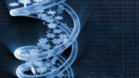 DNA with background - motion graphic