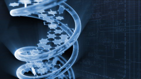 DNA with background - stock footage