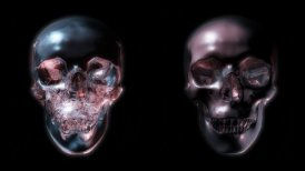 2 skull - motion graphic
