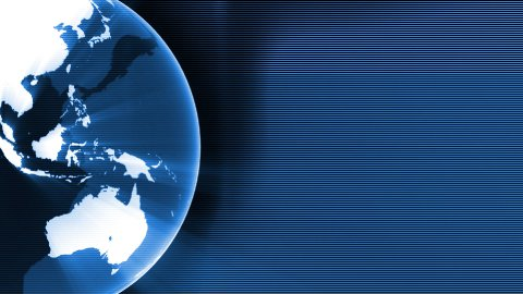Global info background - stock footage