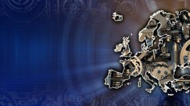 Europe Industry Background - motion graphic