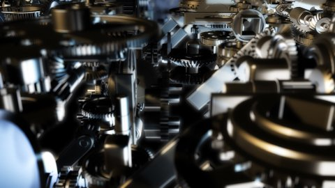 gears loop - stock footage