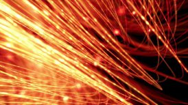 optical fibres background loop - motion graphic
