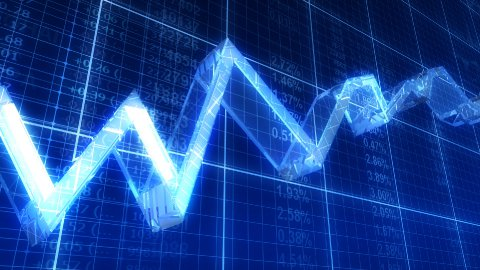 Growth line - stock footage