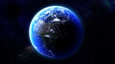 Rotating Globe - stock footage