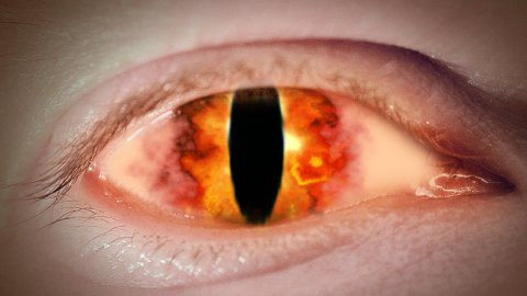 Eye of Sauron - stock footage