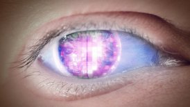 Eye of disco - editable clip, motion graphic, stock footage