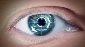Eye of cyborg