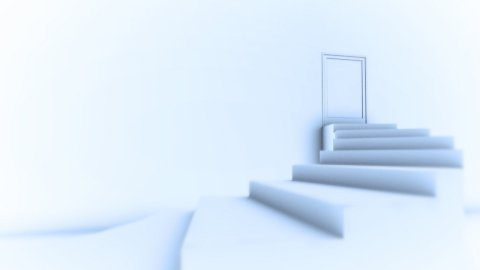 Step to Success - stock footage